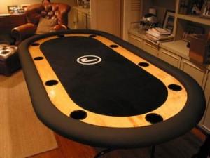 Pokertafel bouwen voor in de man cave
