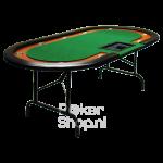 Pokertafel cashgame groen