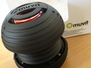 Muvit Mini PortableSpeaker review