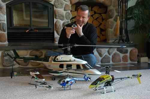 RC helikopter kopen voor in de man cave